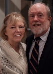 Picture David Quine and wife Shirley